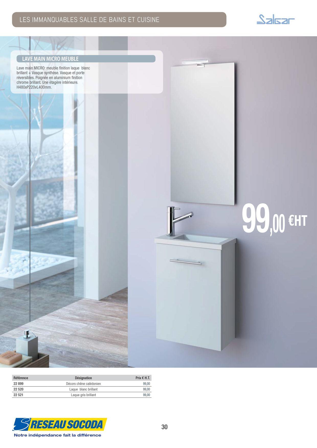 Difference Blanc Brillant Et Blanc Laqué socoda - socoda -les immanquables salle de bains cuisine